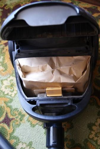 Пылесос с мешком для сбора пыли